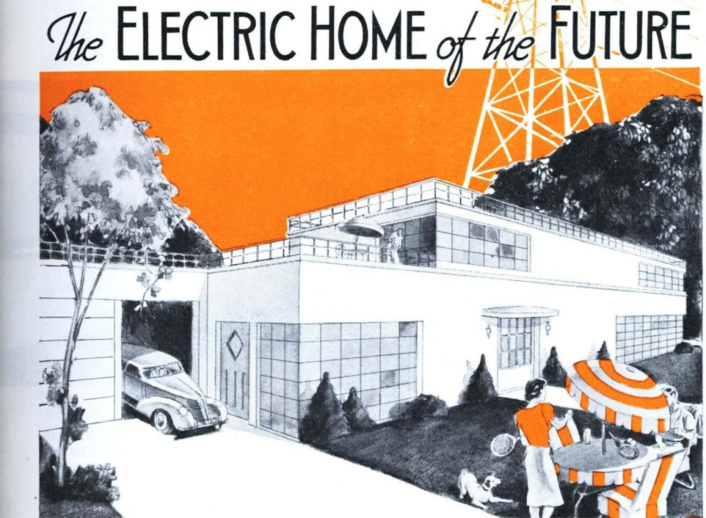 Historie Smart Home Electric Home 1939