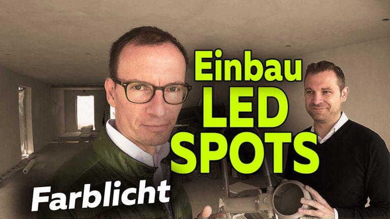Frank Völkel und Timo Müller - Neubau Smart Home Einbau LED Spots