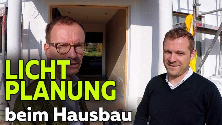 Frank Völkel und Timo Müller - Lichtplanung Neubau Smart Home