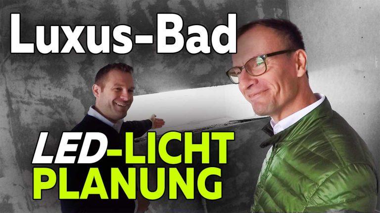Frank Völkel - Lichtplanung Luxusbad Smart Home - Smartest Home
