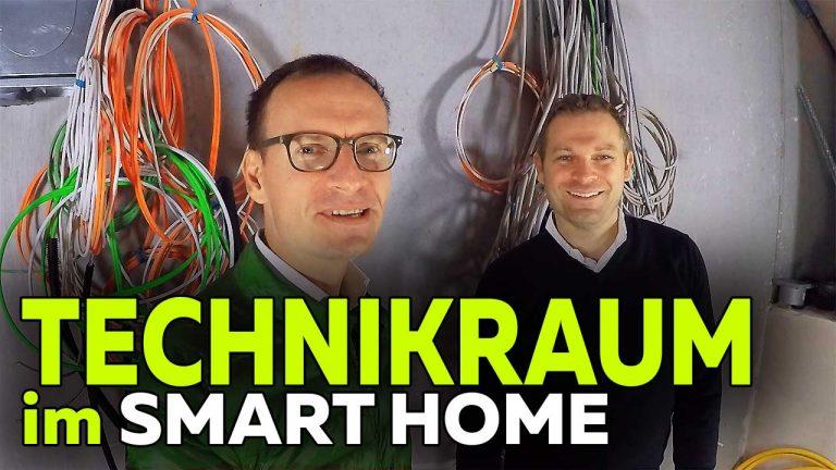 Frank Völkel und Timo Müller - Technikraum KNX Smart Home