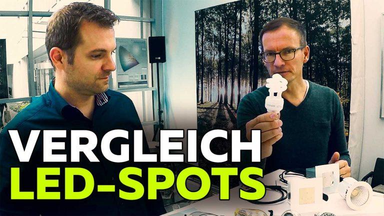 Frank Völkel und Timo Müller - Vergleich LED Spots - Smartest Home