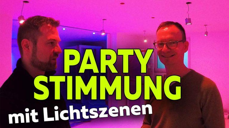 Frank Völkel - KNX Lichtszenen für Partystimmung - Smartest Home