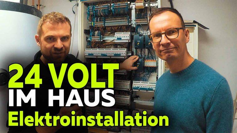 Frank Völkel - 24 Volt Elektroinstallation KNX Smart Home - Smartest Home