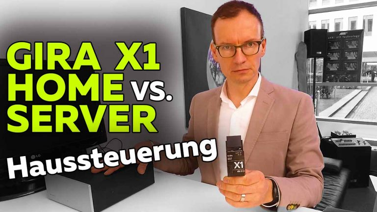 Frank Völkel - Gira X1 vs Gira Homeserver 4 - Smartest Home