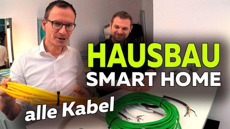Frank Völkel - alle Kabel für Smart Home Neubau - Smartest Home