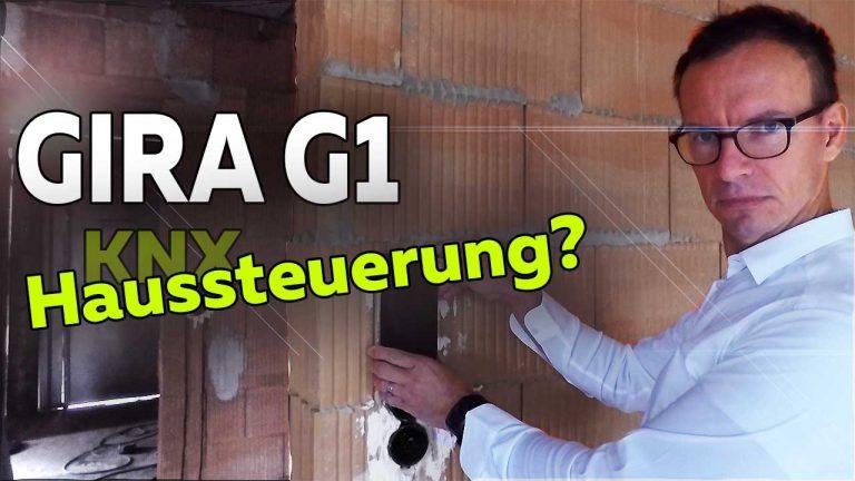 Frank Völkel - Vorstellung Gira G1 KNX Touchscreen Haussteuerung - Smartest Home