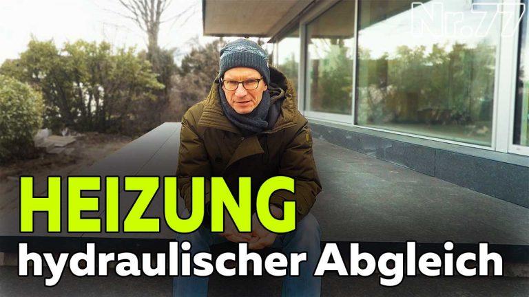 Frank Völkel - Heizung Hydraulischer Abgleich - wie geht das? Smartest Home