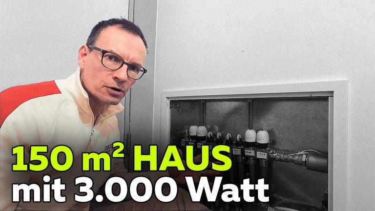 Frank Völkel - 150 qm Haus mit 3000 Watt heizen - Smartest Home