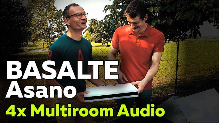 Frank Völkel - Basalte Asano P4A Multiroom-Audio Verstärker - Smartest Home
