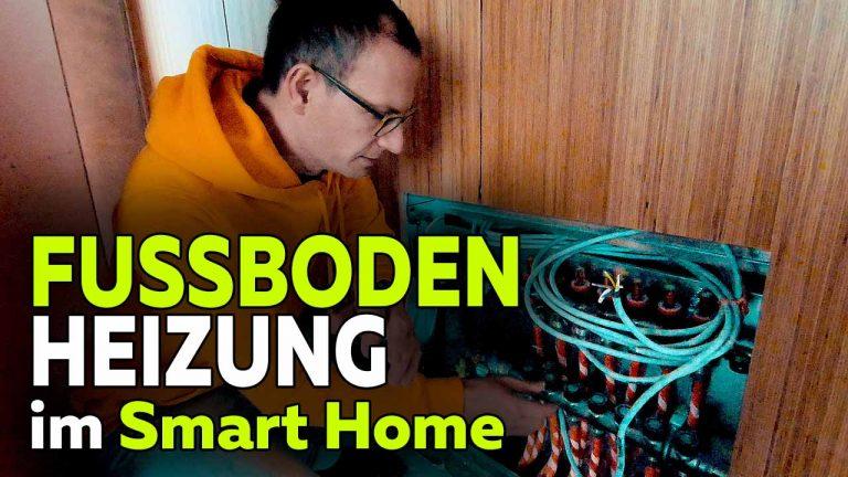 Frank Völkel - Fussbodenheizung Smart Home - Steuerung