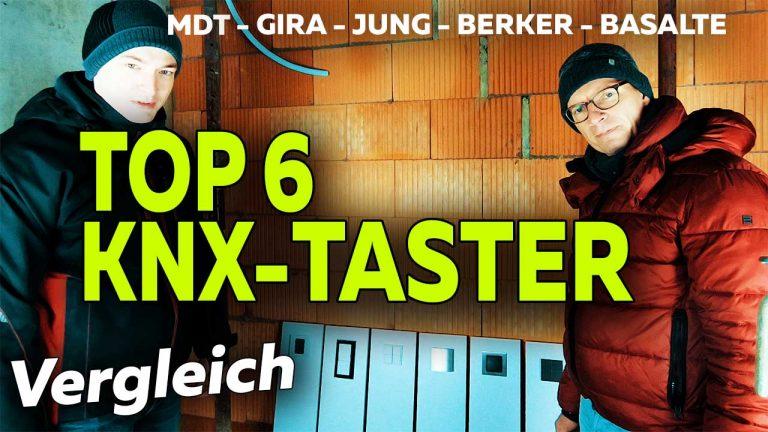 Frank Völkel - Top KNX-Taster im Vergleich - Smartest Home