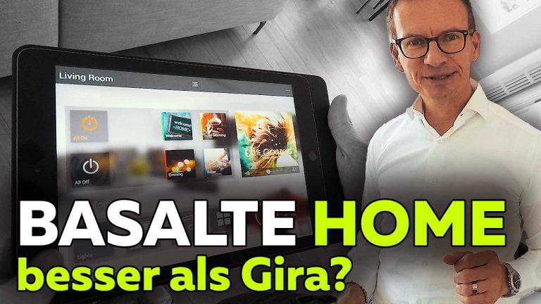 Frank Völkel - Basalte Home besser als Gira Homeserver 4? Smartest Home