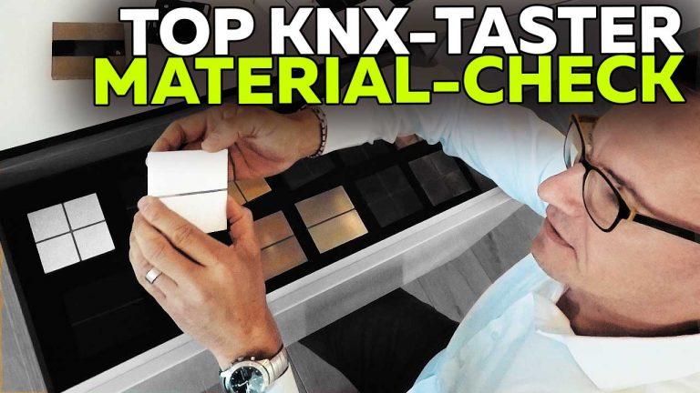 Frank Völkel - Top KNX Taster - Material-Check - Smartest Home