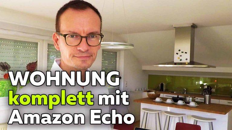 Frank Völkel - Wohnung mit Amazon Alexa steuern - Smartest Home