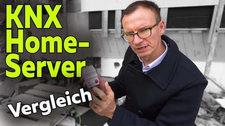 Frank Völkel - Vergleich KNX Homeserver - Smartest Home