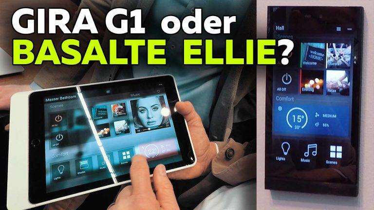 Frank Völkel - Basalte Ellie oder Gira G1? KNX Taster und Touchscreens - Smartest Home