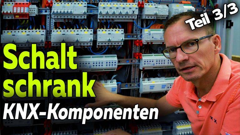 KNX Elektroschaltschrank Komponenten