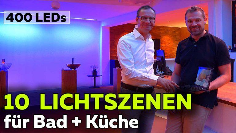 Frank Völkel - Smartest Home - Top 10 Lichtszenen für Bad und Küche