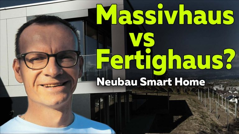 Frank Völkel - Smartest Home - Massivhaus vs Fertighaus