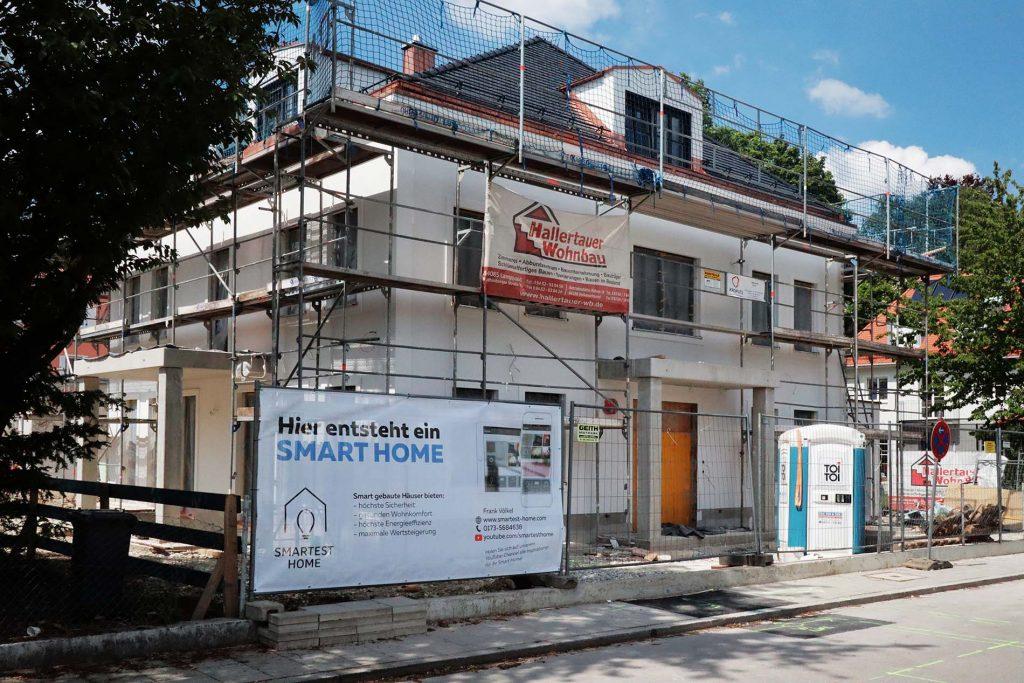 KNX Smart Home ab Spatenstich
