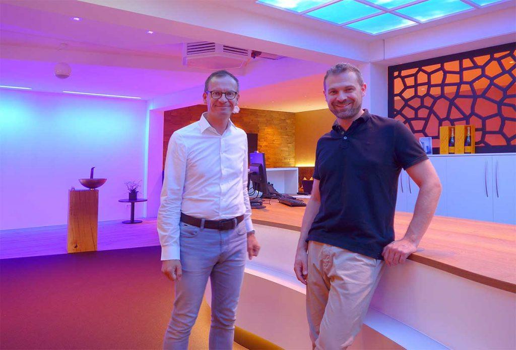 Frank Völkel - KNX Smart Home Highend - DALI Farblichtstimmung