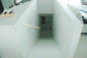 Haus der Gegenwart in München, 2005, Frank Völkel - Treppe