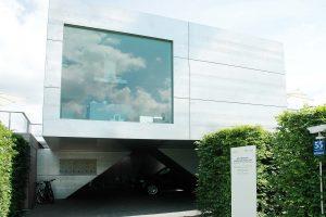 Haus der Gegenwart in München, 2005, Frank Völkel - Eingangsbereich