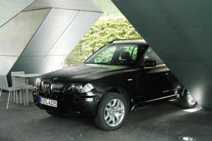 BMW X3 - Haus der Gegenwart in München, 2005, Frank Völkel