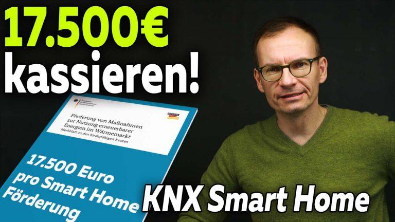 KNX Smart Home Fördergeld Deutchland
