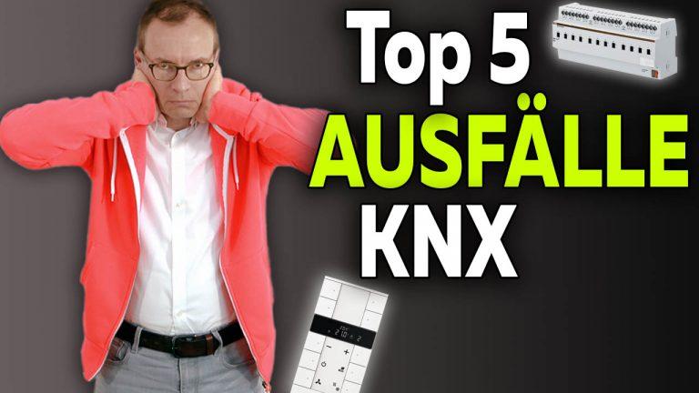 Ausfälle KNX Komponenten Aktoren und Sensoren