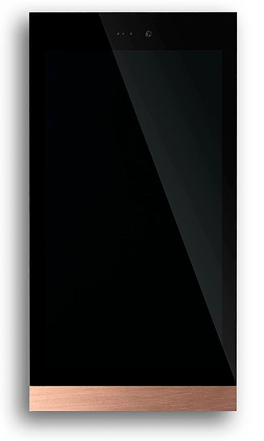 Basalte Ellie Kupfer KNX Touchscreen