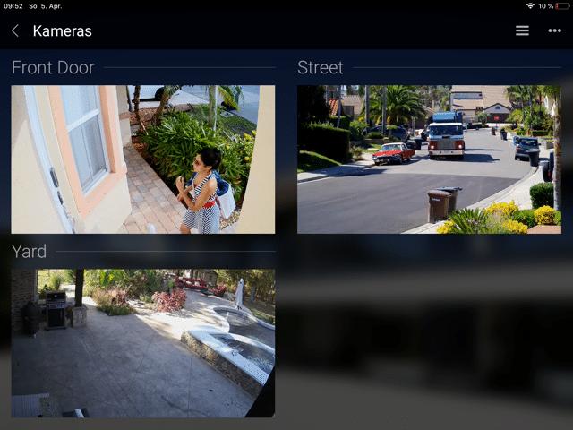 Basalte Home: Sicherheit und Kameraüberwachung