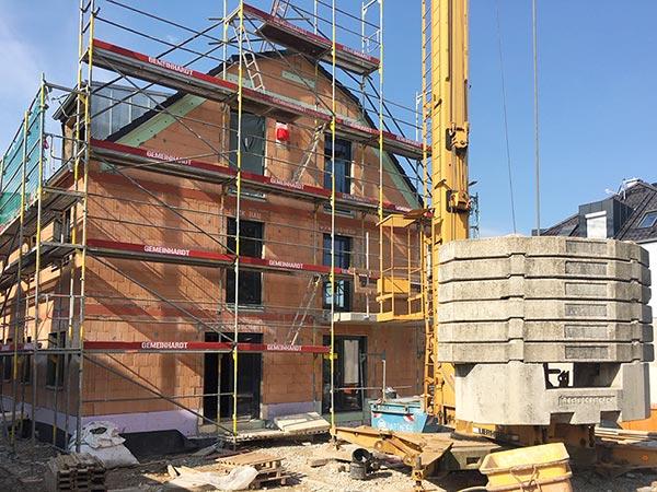 Massivhaus eines Bauträgers - Baukosten pro qm