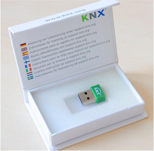 KNX ETS5 Professional Lizenz mit Dongle