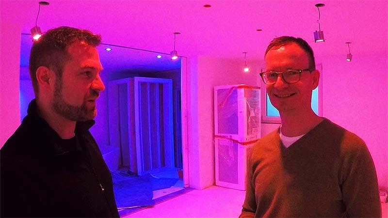 Kiteo K-Spot 12F Farblicht Smart Home