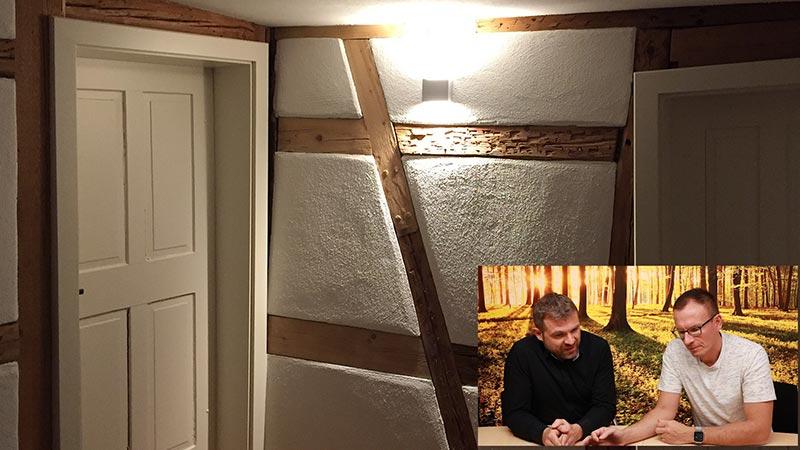 Lichtplanung Altbau Arbeitszimmer