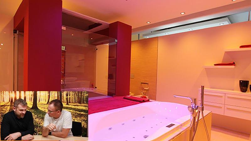Lichtplanung Badezimmer Wellness