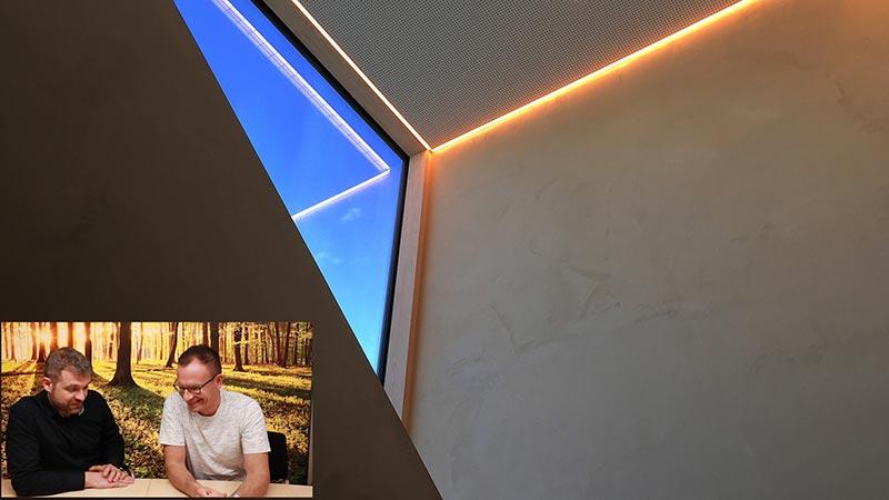 Lichtplanung Flur Treppe Aufgang