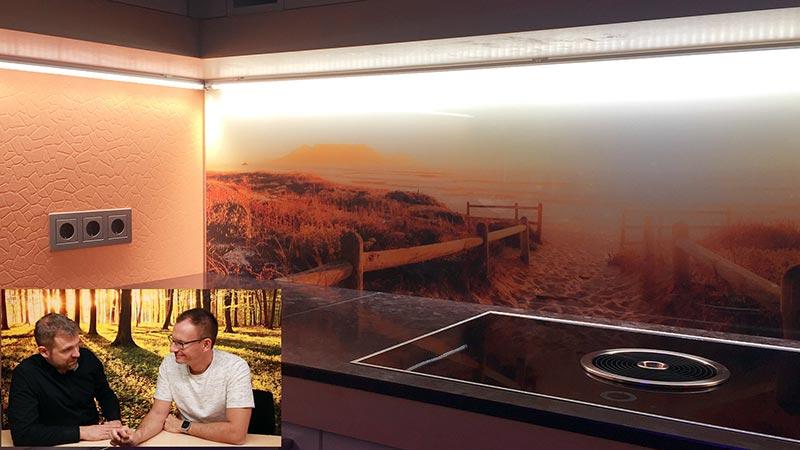 Lichtplanung Küche Küchenzeile