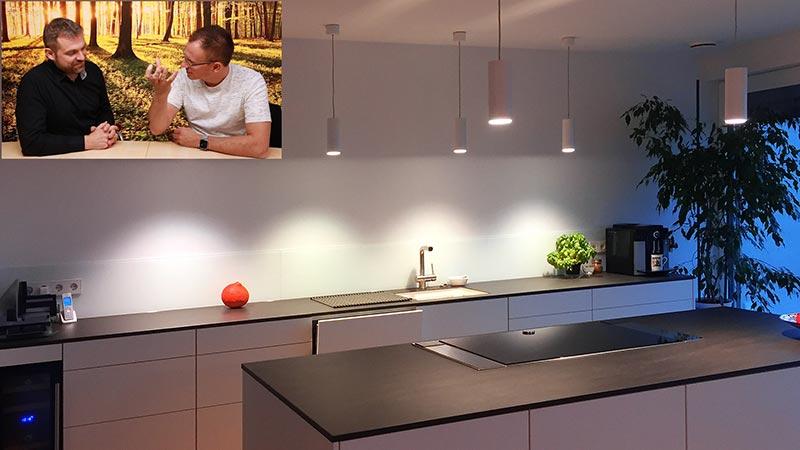 Lichtplanung Küche Beleuchtung Spots