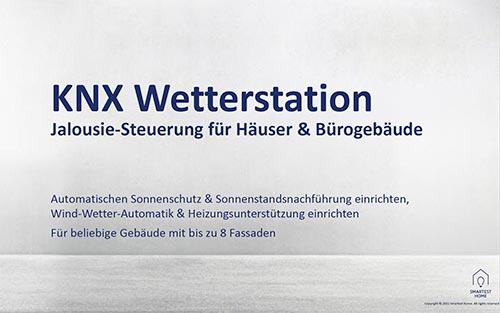 Handout KNX Wetterstation Jalousiesteuerung