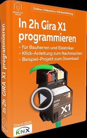 Gira X1 programmieren Videokurs