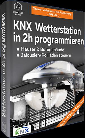 KNX Wetterstation programmmieren Videokurs