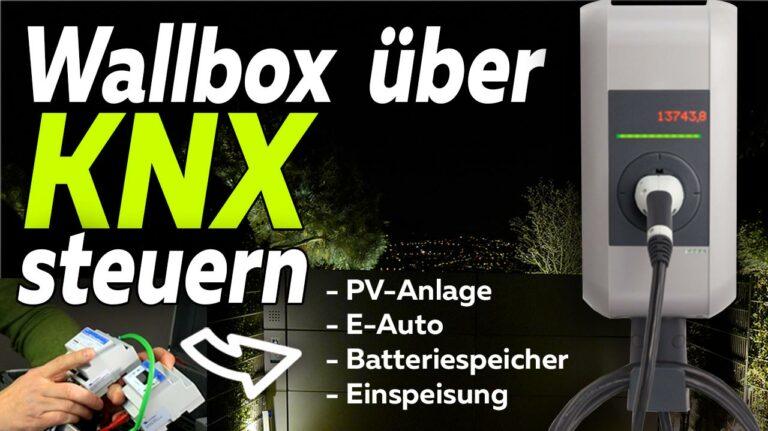 Wallbox Steuerung KNX Smart Meter Eigenverbrauch