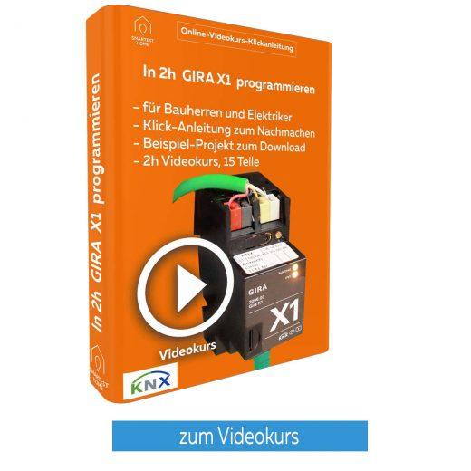 3D Gira X1 Videokurs Button